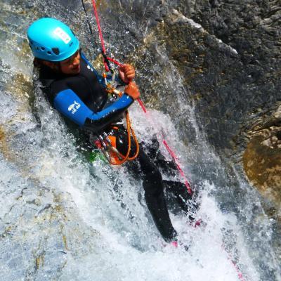Le canyoning dans les Hautes-Alpes à Briançon, Serre-Chevalier