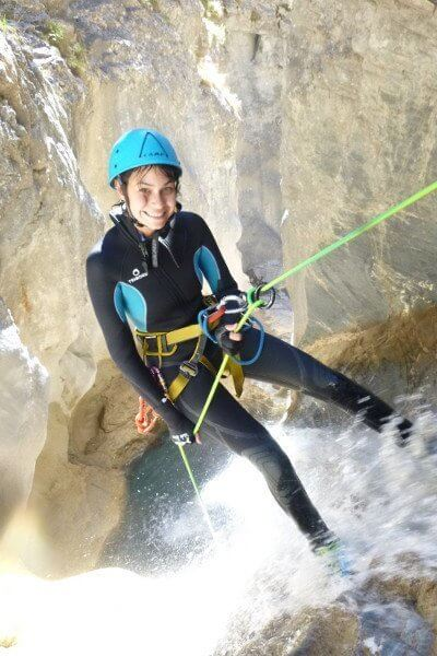 Canyoning Pin-up
