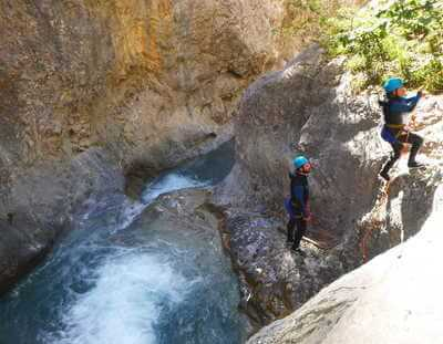 Canyoning Les Acles