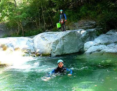 Canyoning Caprie