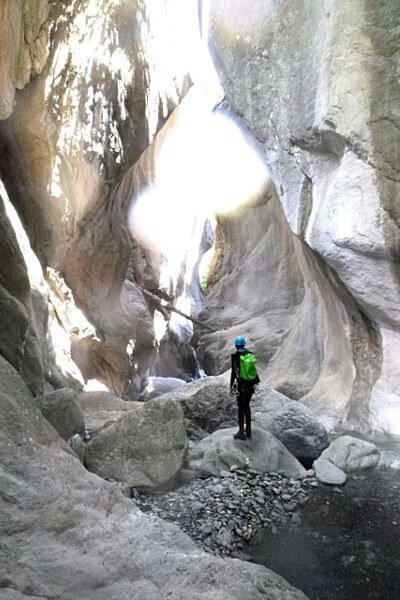 Immersion in canyoning Fournel